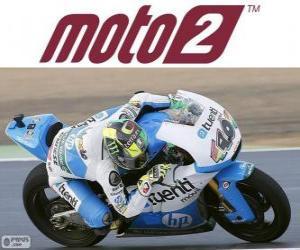 puzzel Pol Espargaró, 2012 wereldkampioen van Moto2