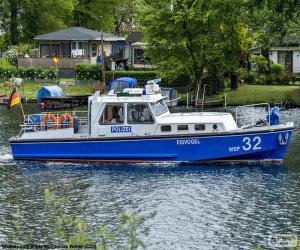 puzzel Politie boot, Duitsland