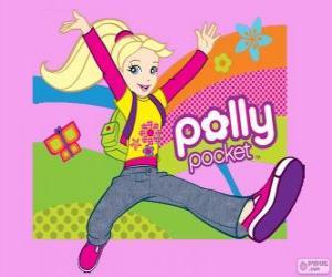 puzzel Polly, de protagonist van Polly Pocket