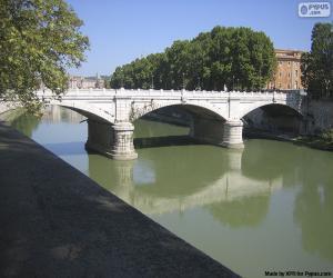 puzzel Ponte Giuseppe Mazzini, Rome