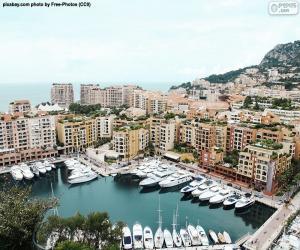 puzzel Poort van Fontvieille, Monaco