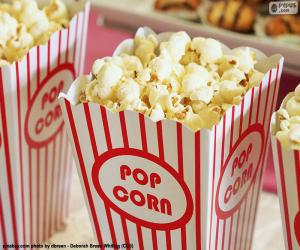 puzzel Popcorn cinema