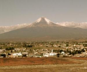 puzzel Popocatepetl Mexico