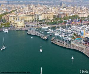 puzzel Port Vell, Barcelona