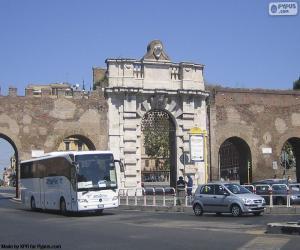 puzzel Porta San Giovanni, Rome