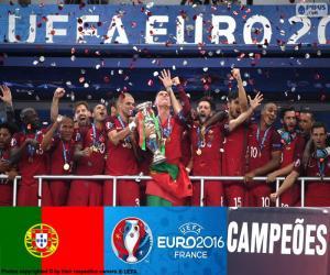 puzzel Portugal, Euro 2016 kampioen