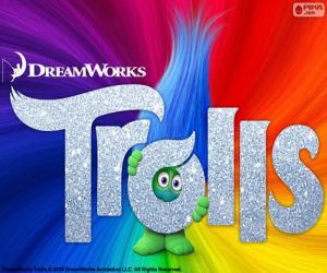 puzzel Poster van de film Trolls