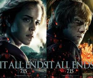 puzzel Posters Harry Potter en de Relieken van de Dood (4)