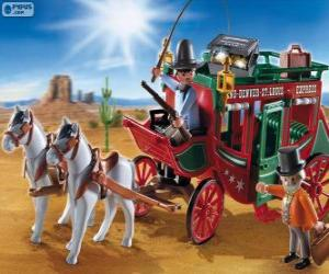puzzel Postkoets van Playmobil