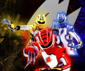 puzzel Power Ranger elite krijgers