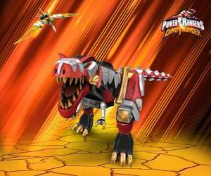 puzzel Power Rangers Dino Thunder