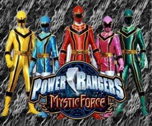 puzzel Power Rangers Mystic Force