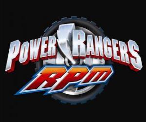 puzzel Power Rangers RPM Logo