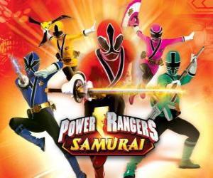 puzzel Power Rangers Samurai