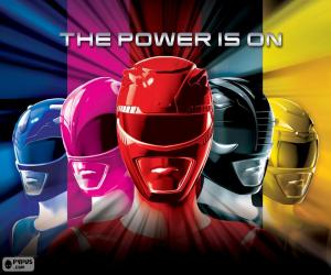 puzzel Power Rangers, The Power is on