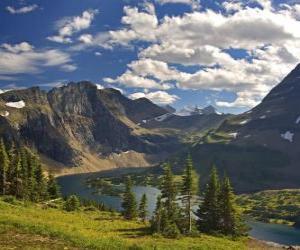 puzzel Prachtige berglandschap