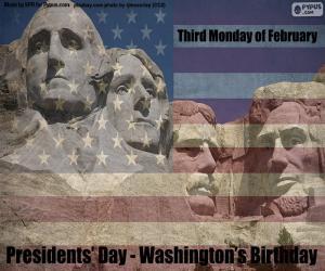 puzzel Presidentsdag