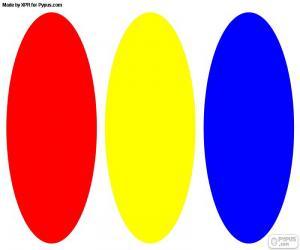 puzzel Primaire kleuren