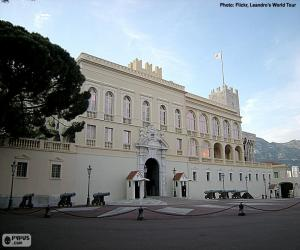 puzzel Prinselijk paleis van Monaco