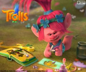 puzzel Prinses Poppy, Trolls
