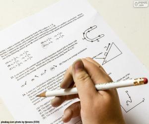 puzzel Problemen in de natuurkunde