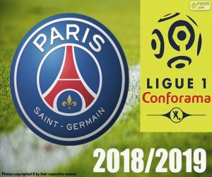 puzzel PSG, kampioen 2018-2019