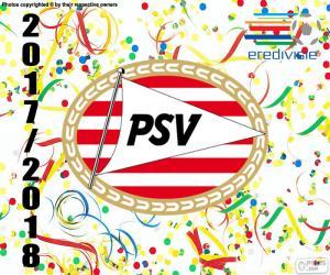 puzzel PSV Eindhoven, Eredivisie 2017-18
