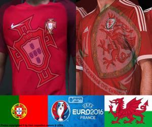 puzzel PT-Wales, halve finales Euro 2016