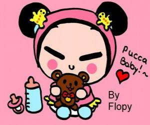 puzzel Pucca baby