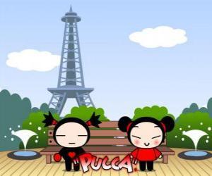 puzzel Pucca en Garu in Parijs