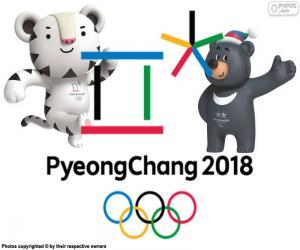 puzzel Pyeongchang Winterspelen van 2018