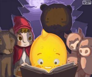 puzzel Pypus lezen van kindersprookjes