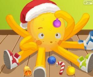 puzzel Pypus met Kerstmis
