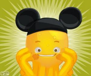 puzzel Pypus, Mickey Mouse