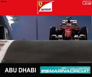 puzzel Räikkönen Grand Prix van Abu Dhabi 2015