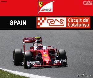 puzzel Räikkönen, Grand Prix van Spanje 2016