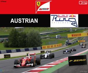 puzzel Räikkönen, Grand Prix van Oostenrijk 2016