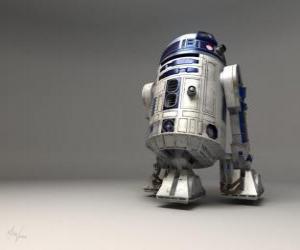 puzzel R2-D2, Astromech Droid (fonetisch gespeld Artoo-Detoo of Artoo-Deetoo, genaamd