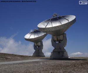 puzzel Radiotelescopen