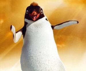 puzzel Ramon, de leider van de pinguïn van de club Los Amigos