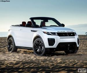 puzzel Range Rover Evoque Convertible