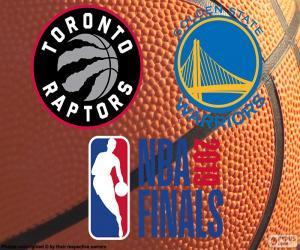 puzzel Raptors-Warriors, NBA Finals 2019