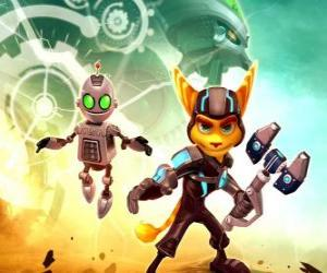 puzzel Ratchet en Clank robot