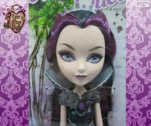 puzzel Raven Queen, leider van Rebels in Ever After High