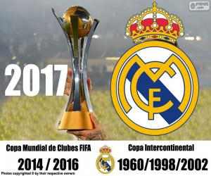 puzzel Real Madrid 2017 FIFA Club World Cup