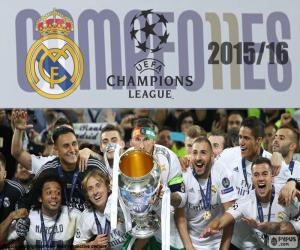 puzzel Real Madrid Champions 2015-2016