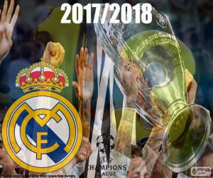 puzzel Real Madrid Champions 2017-2018