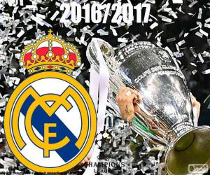 puzzel Real Madrid Champions League 2016-2017