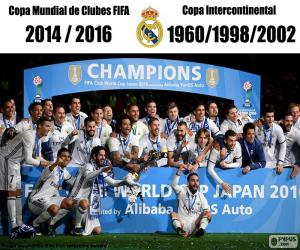 puzzel Real Madrid, FIFA Club World Cup in 2016