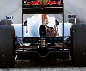 puzzel Rear View, Toro Rosso STR5